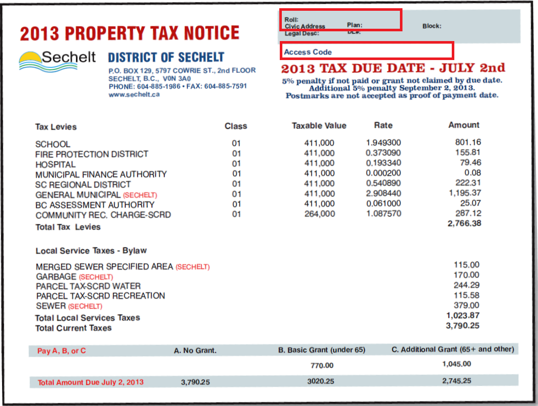How Much Is Tax In Bc >> Home Owner Grant