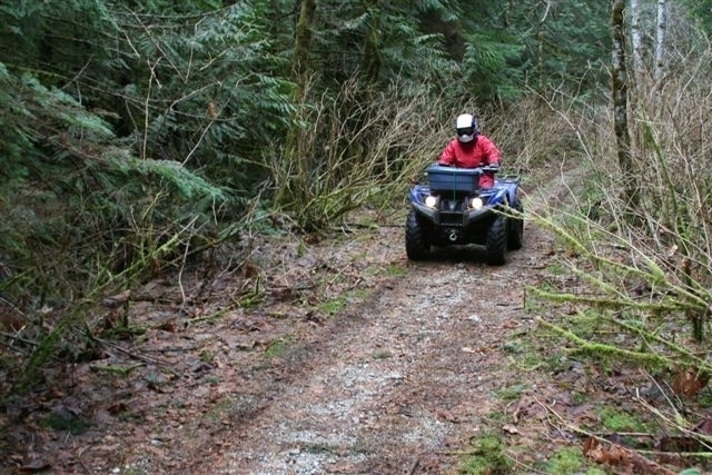 Road - Recreation ATVing in the Community Forest